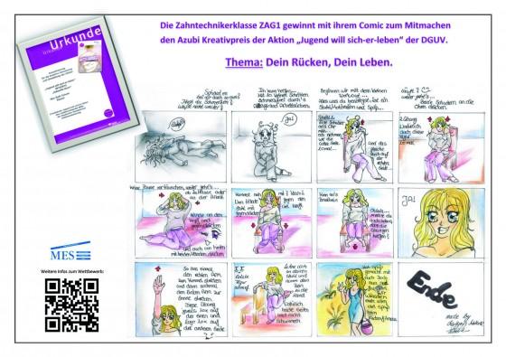 DGUV Kreativpreis 2015 Plakat&Urkunde