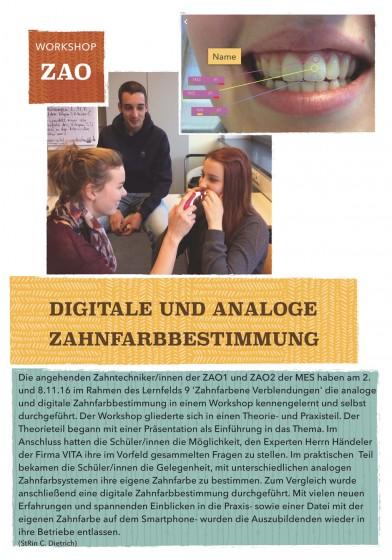 Zahntechnik LF9 Workshop Bericht